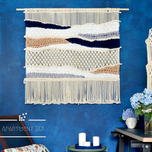 Cloud Atlas Macrame Tapestry - Apartment 201