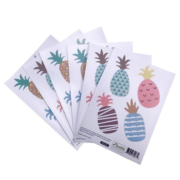 Pineapple Pop Wall Decal Set - Apartment 201