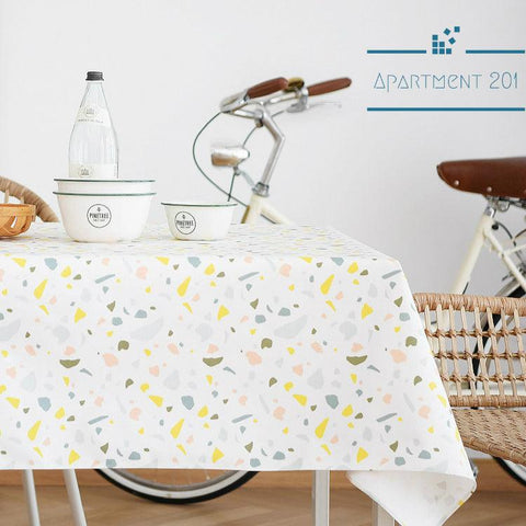 Terrazzo Deco Tablecloth - Apartment 201