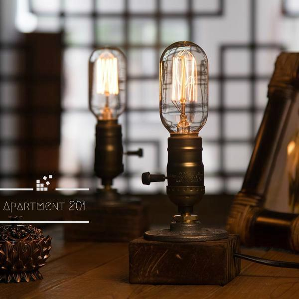 Industrial Age Table Lamp - Apartment 201