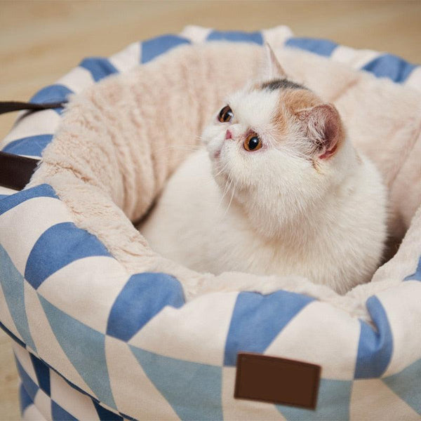 Geo Patterned Pet Bed - Apartment 201