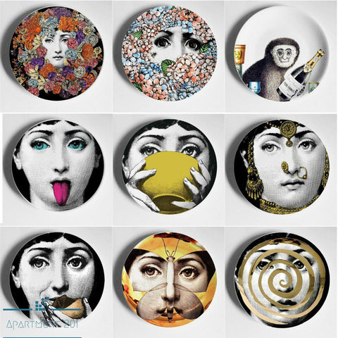 Lina Cavalieri Decorative Wall Plate - Apartment 201