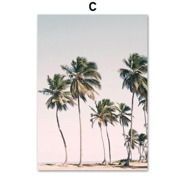 Tropical Summer Moments Canvas Wall Art - Apartment 201