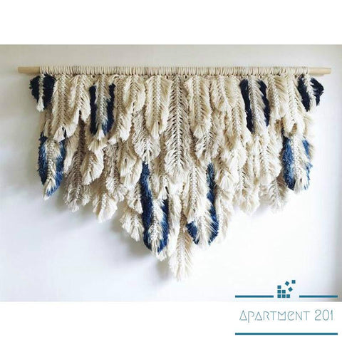 Plumage Tassel Macrame - Apartment 201