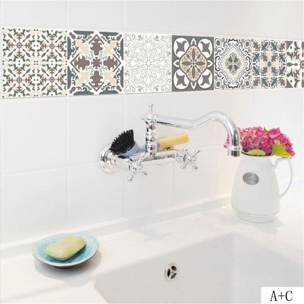Casablanca Mosaic Wall Tile Decals - Apartment 201