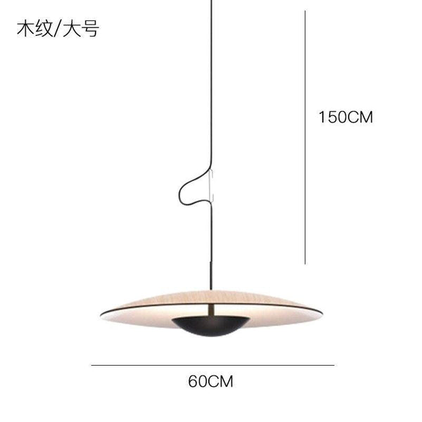 Minimalist UFO Pendant Light - Apartment 201