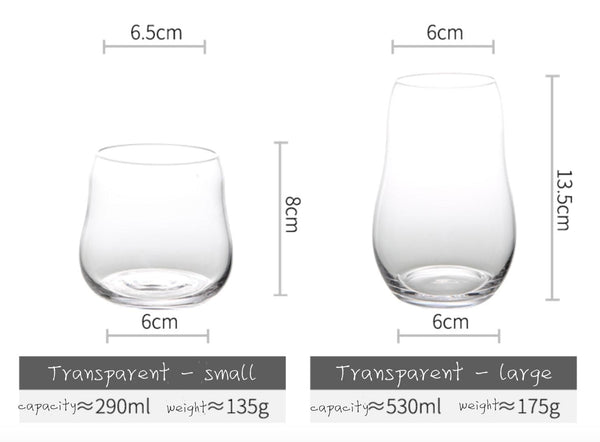La Pera Drinking Glass Set of 2 - Apartment 201