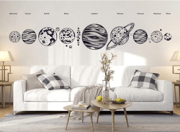 Solar System Wall Decal - Apartment 201