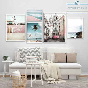Summer Breeze Canvas Wall Art - Apartment 201