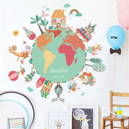 Beautiful World Wall Decal - Apartment 201