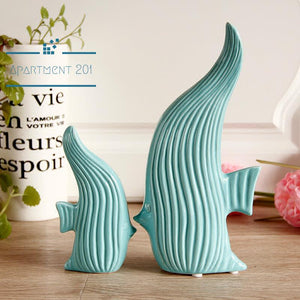 Sweet Angelfish Figurines - apt201