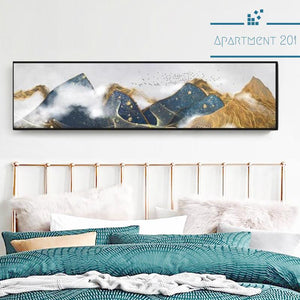Colorful Mountain Canvas Wall Art - apt201