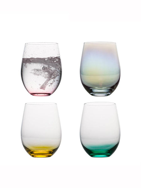 Waterfall Stemless Cocktail Glass - Apartment 201