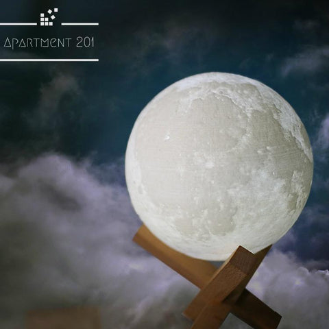 3D LED Moon Lamp - Apartment 201