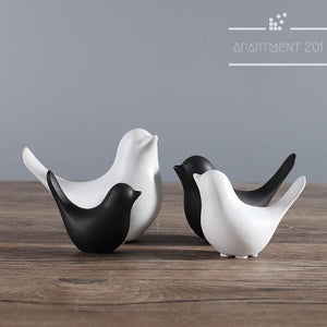 Cutie Bird Figurines - Apartment 201