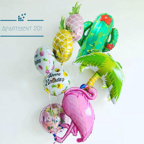 Summer Themed Party Balloons - Apartment 201