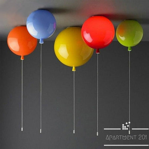 Balloon Love Ceiling Lights - Apartment 201