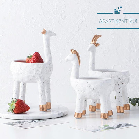 Charmed Animal Pots - Apartment 201