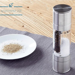 Pepper Grinder 2 in 1 Salt & Pepper Mill - Apartment 201