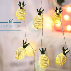 Pineapple String Lights - Apartment 201