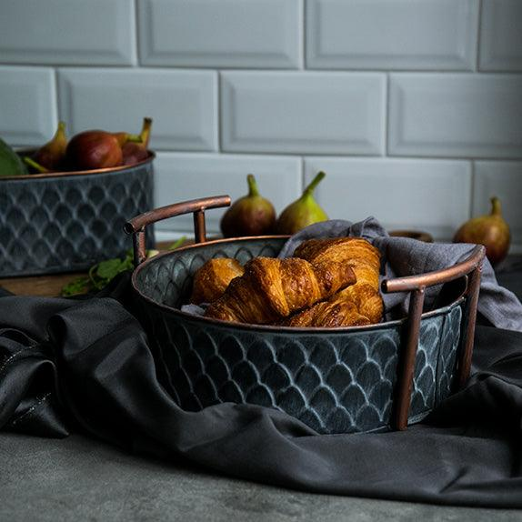 Handcrafted Iron Storage Basket - Apartment 201