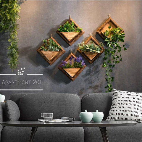 Wall Hanging Flower Pots - Apartment 201