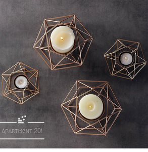 Geometric Candle Holder - Apartment 201