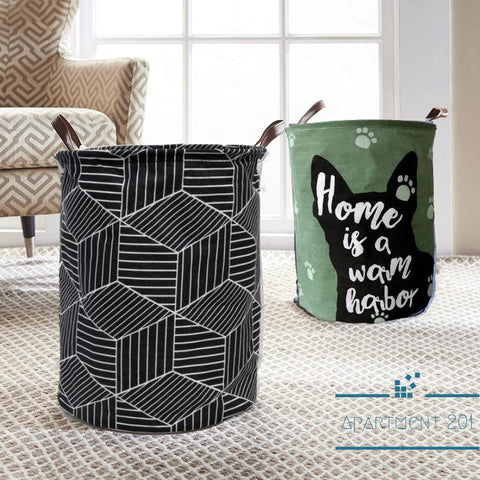 Foldable Waterproof  Laundry Basket - Apartment 201