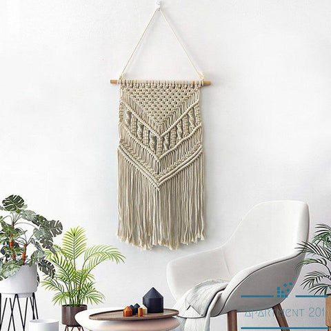 Tassel Chic Boho Macrame - Apartment 201