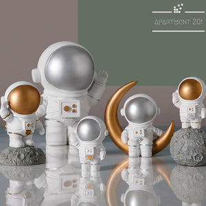 Traveling Astronaut Figurines - Apartment 201