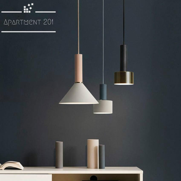 Tribeca Chic Pendant Lights - Apartment 201