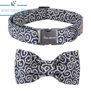 Fashion Cool Bowtie Collar and Leash - apt201