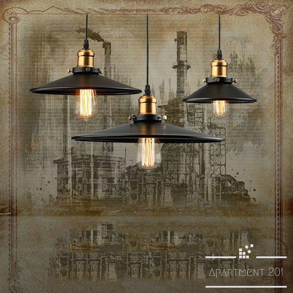 Victoria Flat Pendant Light - Apartment 201