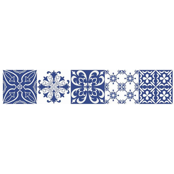 Vintage Moroccan Style Wall Tile Stickers - Apartment 201