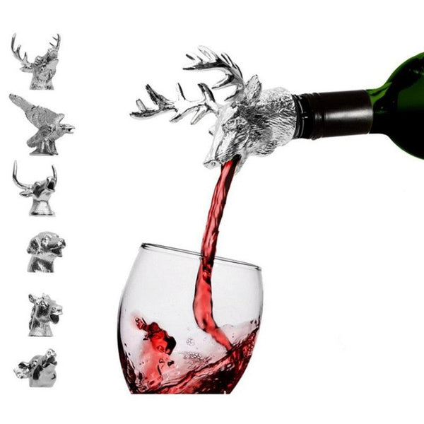 Deer Head Red Wine Stopper - Apartment 201