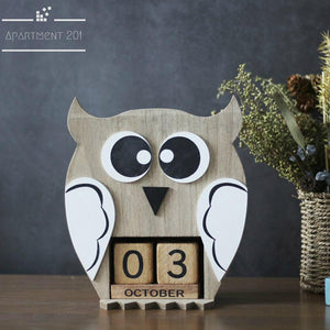 Wise Owl Perpetual Calendar - Apartment 201