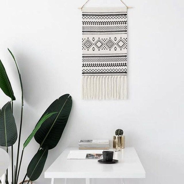 Navajo Geometric Wall Tapestry - Apartment 201