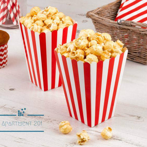 Classic Candy /  Popcorn Party Boxes - apt201