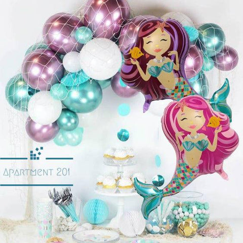 Mermaid Latex Balloon - apt201