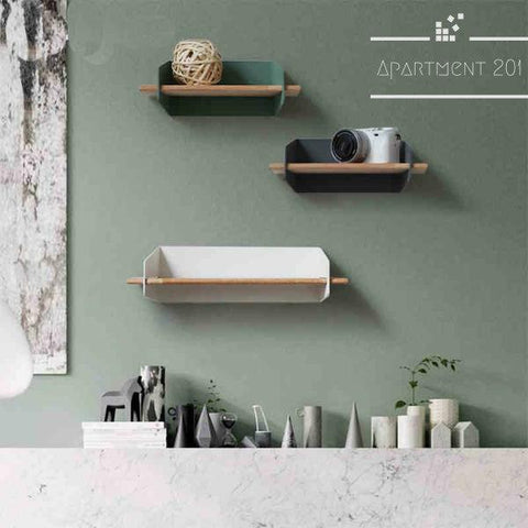 Nordic Wall Display Unit - Apartment 201