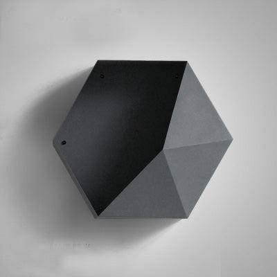 Hexagon Wall Display Unit - Apartment 201