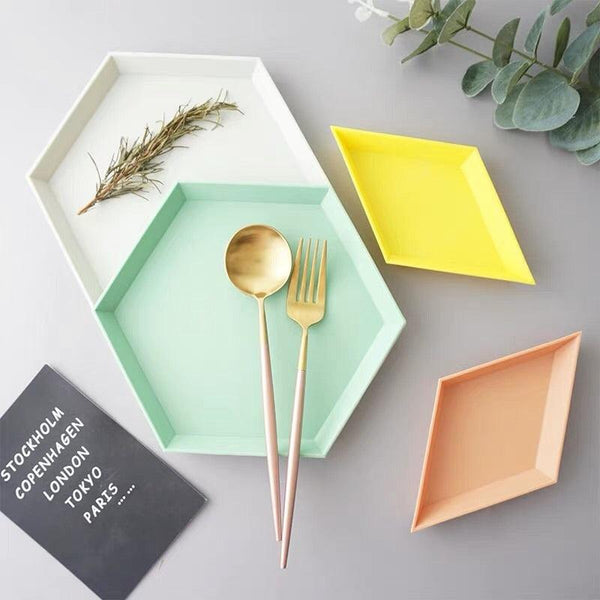 Color Me Geometric Kaleido Trays - apt201