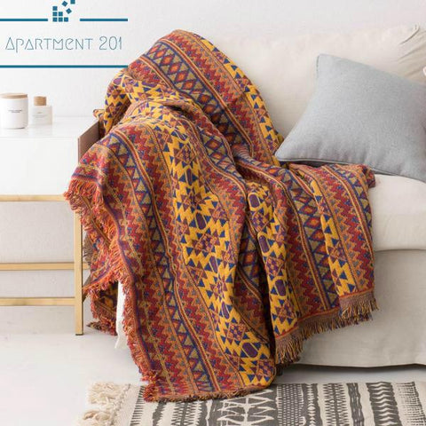 Comfy Cotton Throw Blankets - apt201