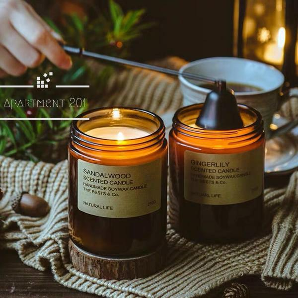 Soothing Aromatherapy Candles - Apartment 201