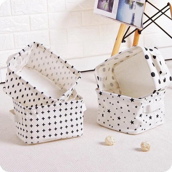Cotton Cozy Storage Baskets - apt201