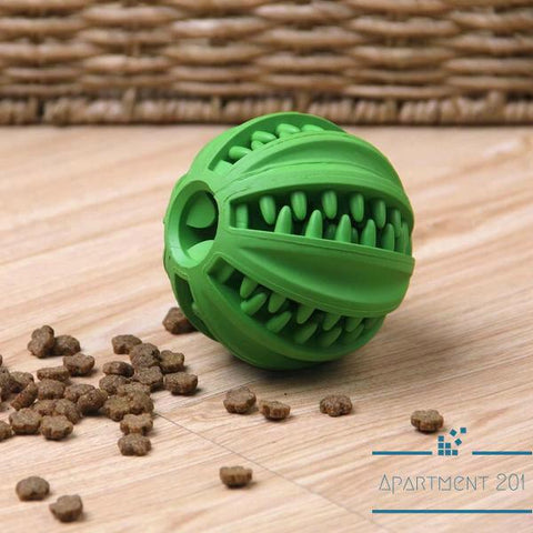 Fetch Rubber Snack Ball - Apartment 201