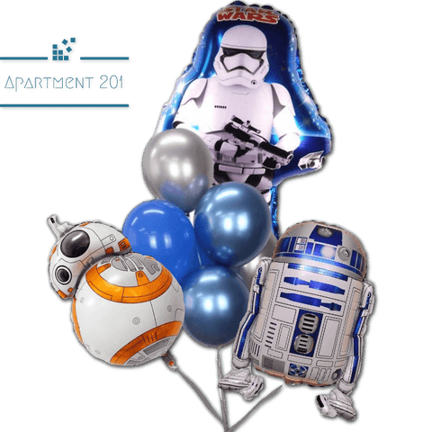 Star Wars Foil Balloons - Apartment 201