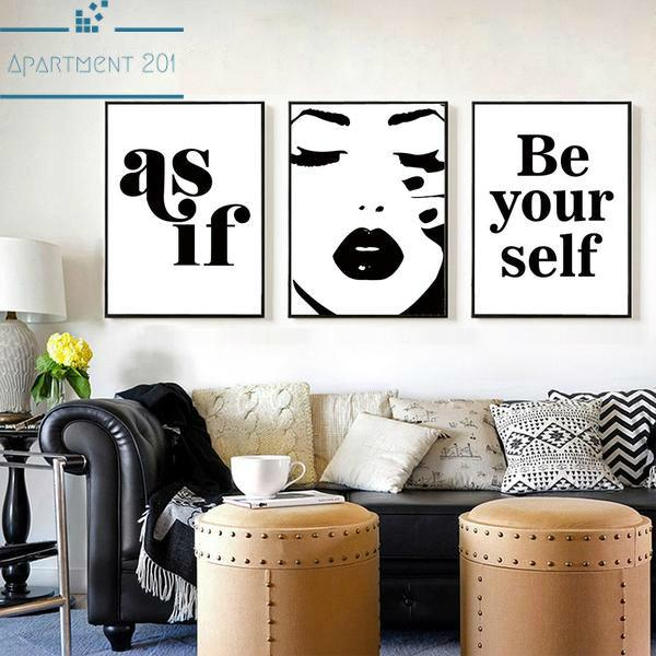 Fashion Canvas Wall Art - Apartment 201