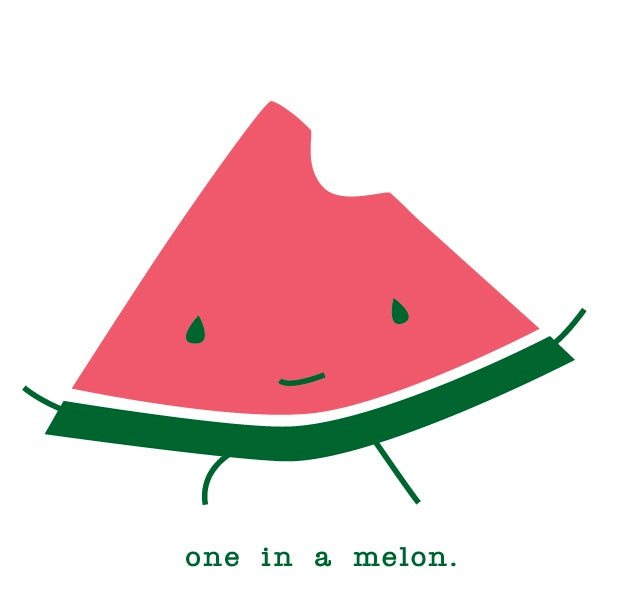 one in a melon.