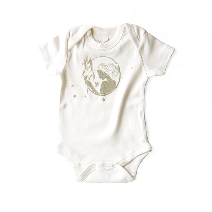 Virgo Baby Gift | Organic Baby Bodysuit | Astrology Unisex Baby Gift | August 23 - September 22 | Baby Shower Present